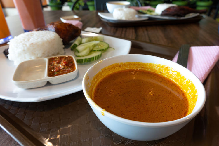 Food Steam Rice