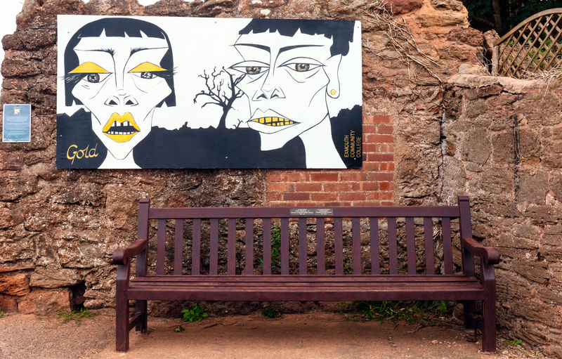 Park Bench with