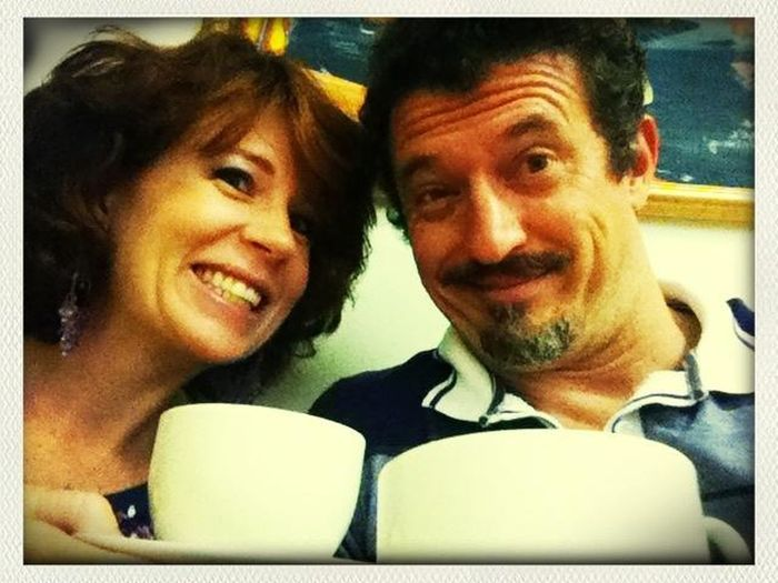 Coffee at the Mediclinic. (While our boy gets circumcised.