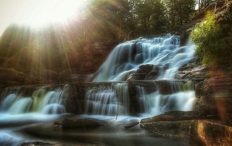 Resica Falls Long Exposure Sunset_collection Hdr_Collection EyeEm Best Shots EyeEm Best Shots - Long Exposure Pennsylvania