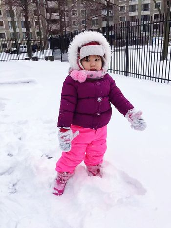 Cute Baby Cute Cute Girl Snow Day Snow ❄ Snow Eye4photography  Today's Hot Look Happy Day☺ Stree Photography EyeEmBestPics Happy Time 😛 😁 💎 ✌ Taking Photos EyeEm Best Shots The Moment Baby Enjoying Life Babyface