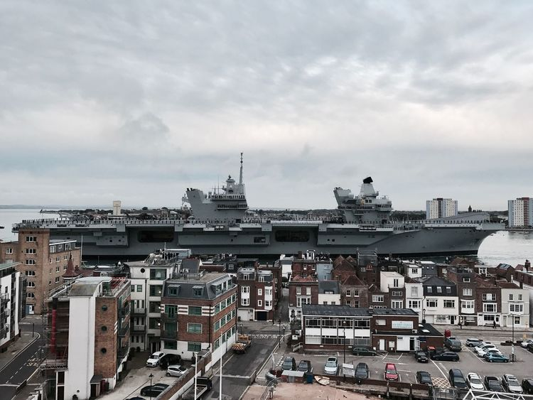 The Week On EyeEm Aircraft Carrier Ship Navy Sea Boats Cityscape Transportation Nautical Vessel IPhoneography City View