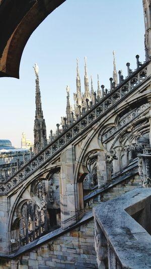 Milan roof Duomo