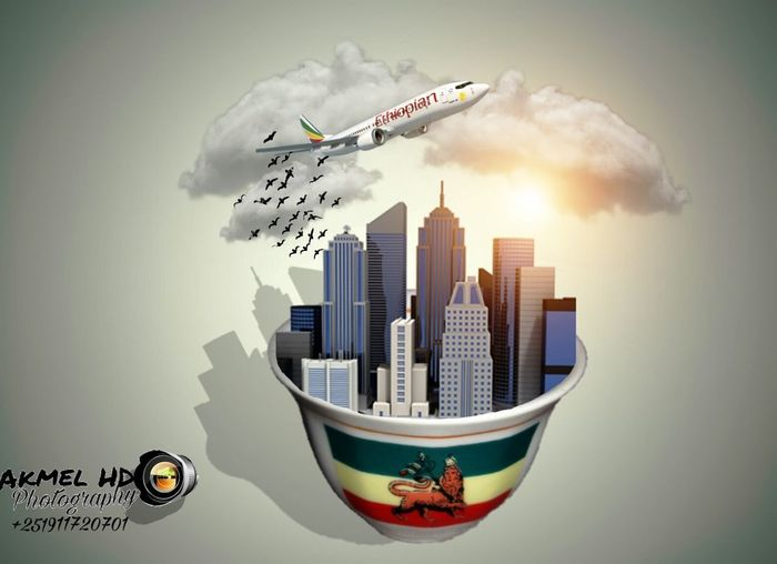 Ethiopia Coffee Akmelhd Skyscraper City Cloud - Sky RISK Urban Skyline Cityscape Technology Internet Airplane Architecture No People Day Cyberspace Outdoors Sky