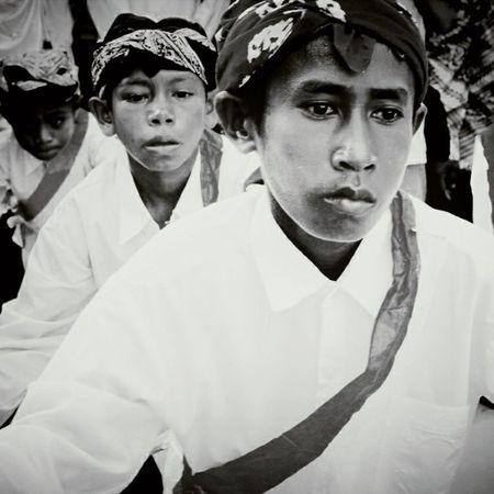 Dancing Boys. Some boys from Geser Village was dancing after celebrated the inauguration of King of Geser tribe. Maluku  Northceram Dance Culture