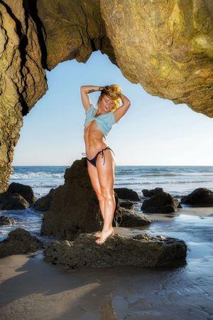 """Venus Rising"" - Model: Morgan Weske Young Women Swimsuit Model El Matador Beach Summer Body Summer Vibes Beach View Real People Sea Beauty In Nature Clear Sky Scenics Malibu Hello World"