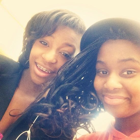 Me and this Supa Freak lls Tryna look professional for our performances