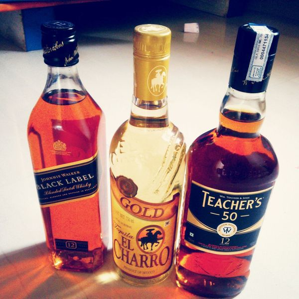 Johnny Walker Black Label Taquilla Teachers Scotch Relaxing Hanging Out Enjoying Life Good Mood :) Bottles