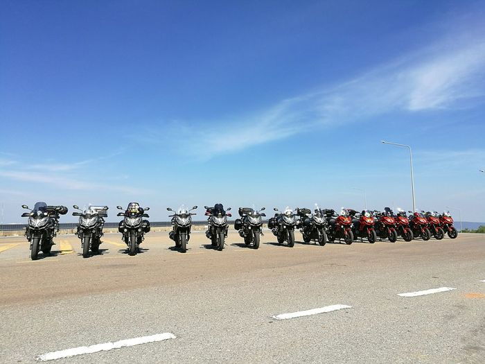 We're Versys1000 Blue Sky Motorcycle Kawasaki Versys Versys1000 Bigbike Bigbikethailand Touring Bikes