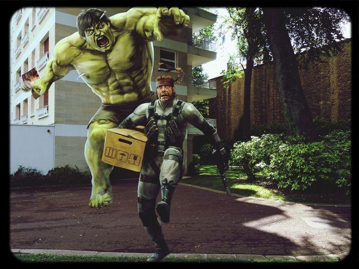 Snake Hulk LOL Metal Gear Solid