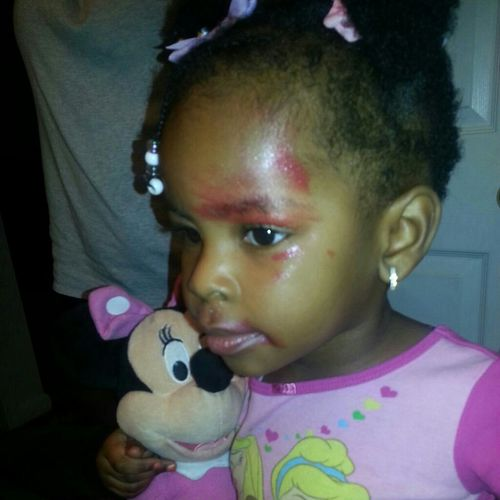 My Baby Tried To Do Her Own Makeup!