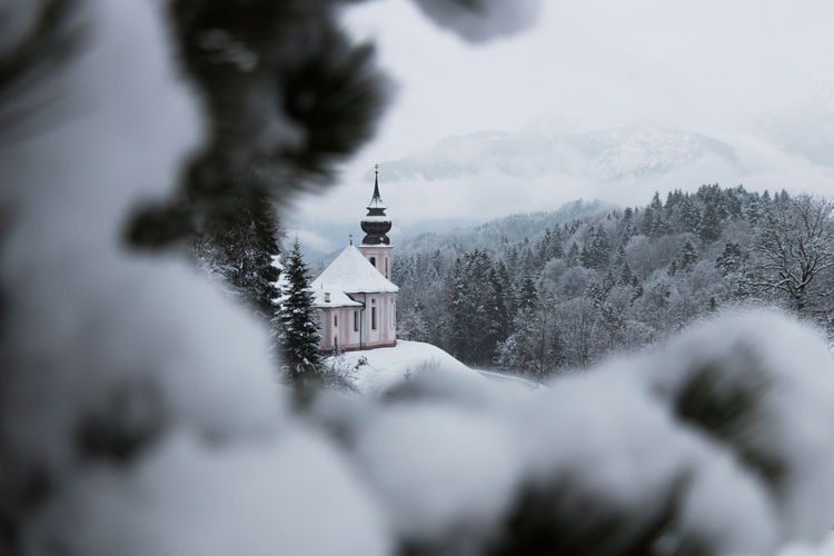 Maria Gern, Berchtesgaden Berchtesgaden , Germany Berchtesgadener Land  Church Relaxing Architecture Berchtesgaden Cold Temperature Cross Day Maria Gern Mountain Nature No People Outdoors Place Of Worship Religion Snow Spirituality Winter
