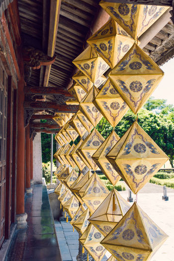 Huế Imperial Palace Hue Citidel Hue City Lanterns Yellow Jaune Architecture Art Tradition Culture Impetial City Built Structure Nikon Vietnam Travel Vietnamphotography Vietnam Trip Cityscape Vietnam Paint The Town Yellow