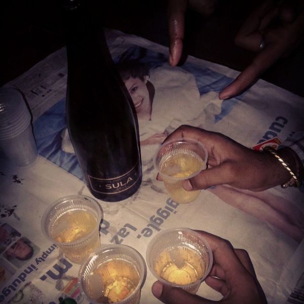 Party time Party All Night Birhday Wine Cuteness Feeling Happy Holiday Friends Home Cold Ice Sula Instagramers