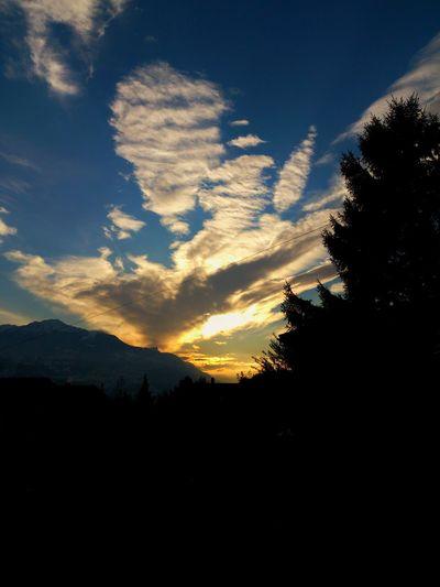 Calm Clouds Sky