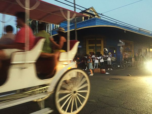 The Journey Is The Destination Neworleans NewOrleans Music NOLA Horse Carriage Music Citybynight