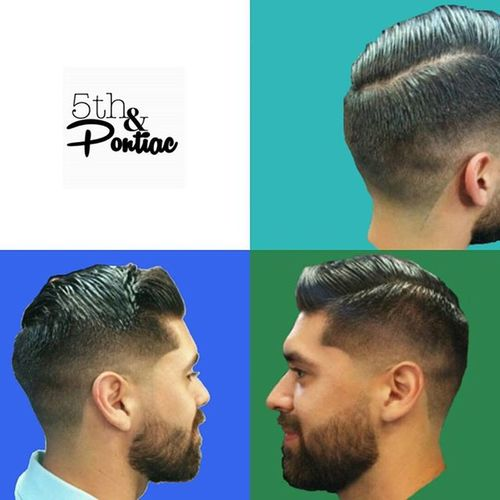 Mid week cuts are always a pick me up. Booking info in bio. From LA to Palm Springs. Cut by resident @5thandpontiac barber Styled using @bonafidepomade Superior Hold 5thandpontiac Taper  Fade Latopalmsprings Hair Hairstyles Sidepart SoCal Socalbarber Menshairstyle Menslook Beard Bonafide Pomade SUPPORT Supportlocal Supportlocalbusiness