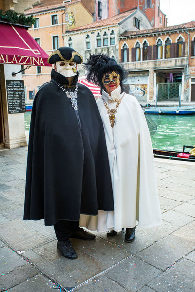 Carnival Carnivale In Venice Architecture Building Exterior Built Structure Carnival Costumes Celebration City Day Full Length Happiness Lifestyles Looking At Camera Men Outdoors People Portrait Real People Smiling Standing Togetherness Two People Well-dressed Young Adult