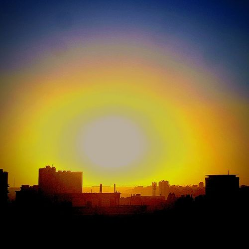 Sunset Architecture Built Structure Building Exterior Urban Skyline No People Outdoors
