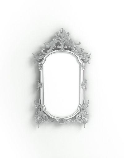 Baroque Metal Silver  Photoframe Mirror Frame Printshop Blogphotography Product Photography Stockphoto