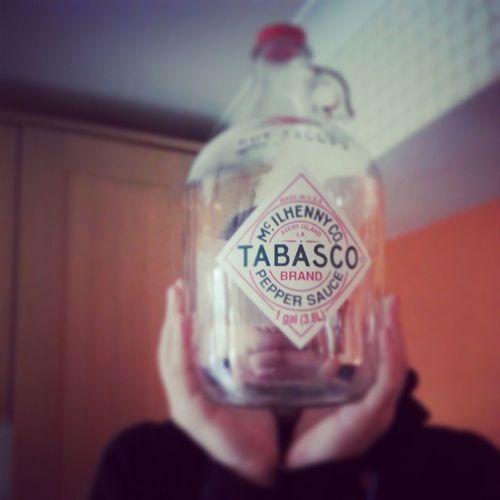 OVERsize Tabasco Tabascosauce