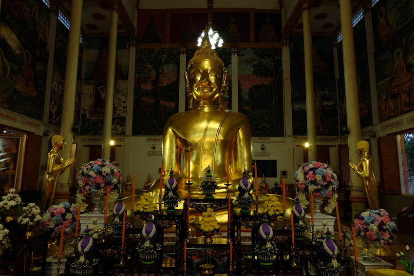 Buddha Laotian Art style in Sisaket Thailand Religion Spirituality Lao Culture LaoStyle Sisaket,thailand Temple Thailand Immigration