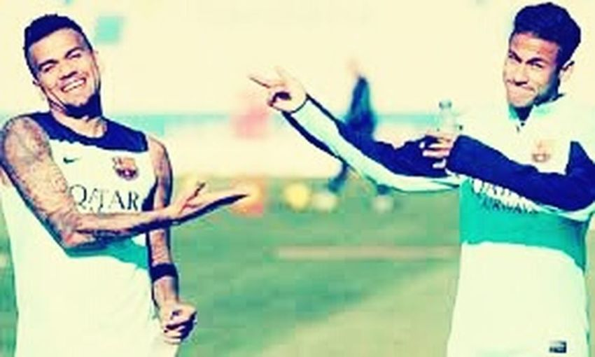 Catalunia 😍❤ visca el barca NeymarJr♥ Dani Alves ❤