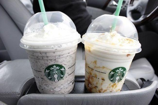 Starbucks Starbucks! Starbuck Starbucks <3