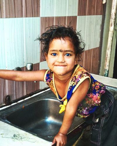 """Children are uncut diamonds.""❤️❤️ Water Portrait Looking At Camera Beautiful Woman Headshot Smiling Wet Hair"