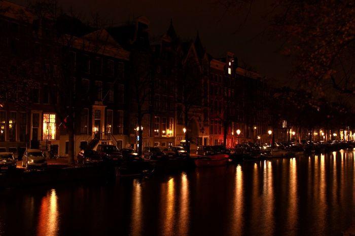 Jordaan Nine Streets Nightshot Amsterdam