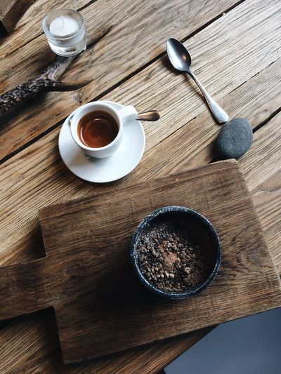 Moscow's snow in the cup. Sweet winter menu in Bjorn. Food And Drink Table Drink High Angle View Wood - Material Coffee - Drink Coffee Cup Indoors  Refreshment No People Freshness Sweet Food Day Food Ready-to-eat Freshness Dessert Scandinavia