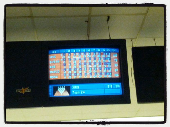 King of the hill! Bowling