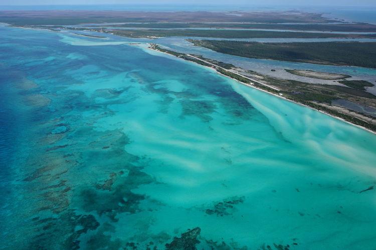 Deepwater Cay, Bahamas Aerial View Aerial Shot Aerial Photography Blue Sea Bahamas Blue Wave