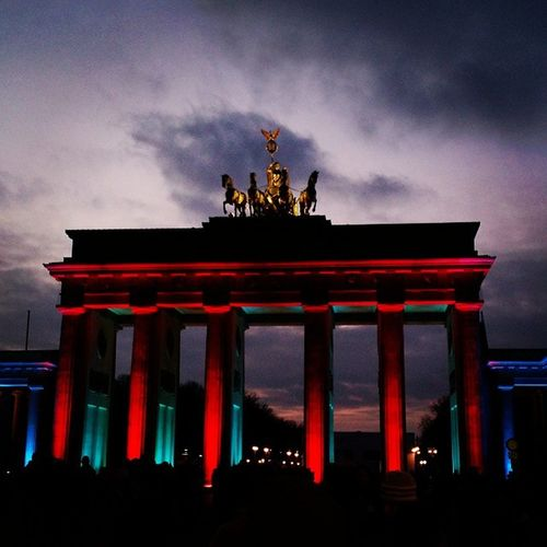 Bradenburgertor Berlin Igs_world Igs_germany Igs_deutschland Germany Deutschland Nightshot Light Colors