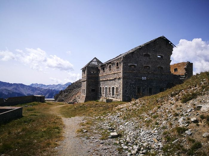 Janus Fortress Alps Fortress Defense Architecture Fortress France Defence Alps Maginot Line Mountain Sky