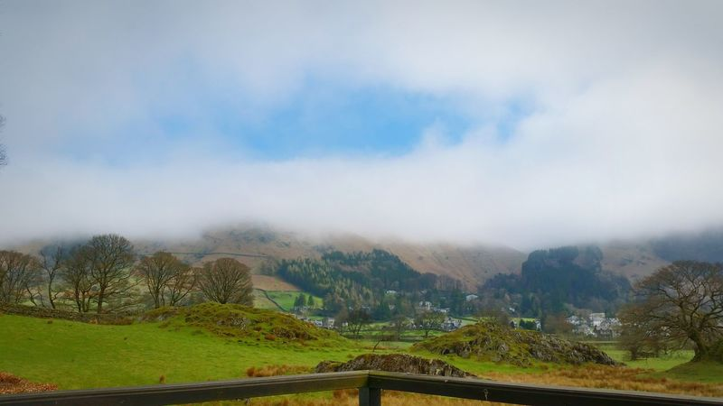 Not a bad view Stone Arthur Grasmere The Lake District