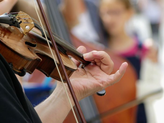 Hand Street Musician Violin Violinist Soloist Classical Musician Classical Music