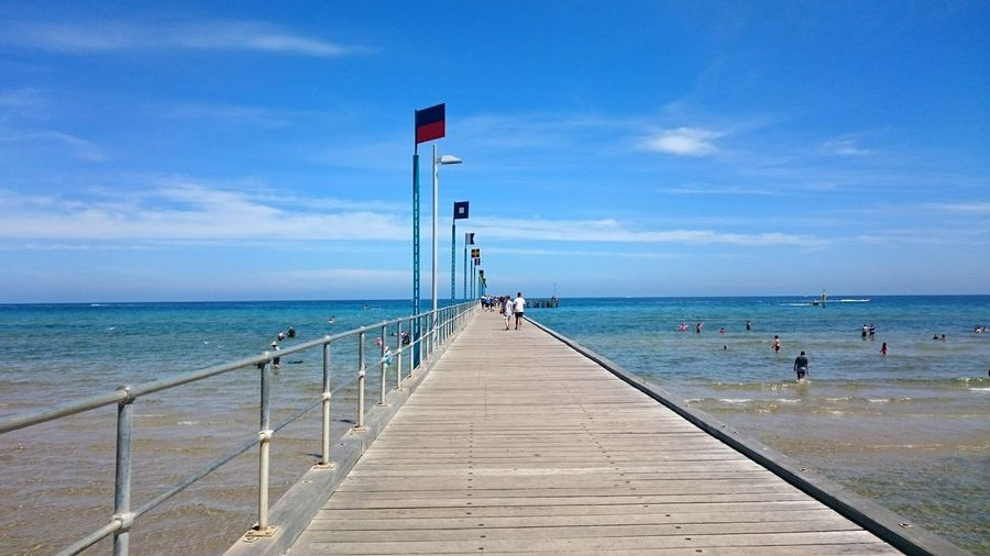 Beach Ocean Flag Hanging Out Enjoying Life Melbourne Australia Travel Summer