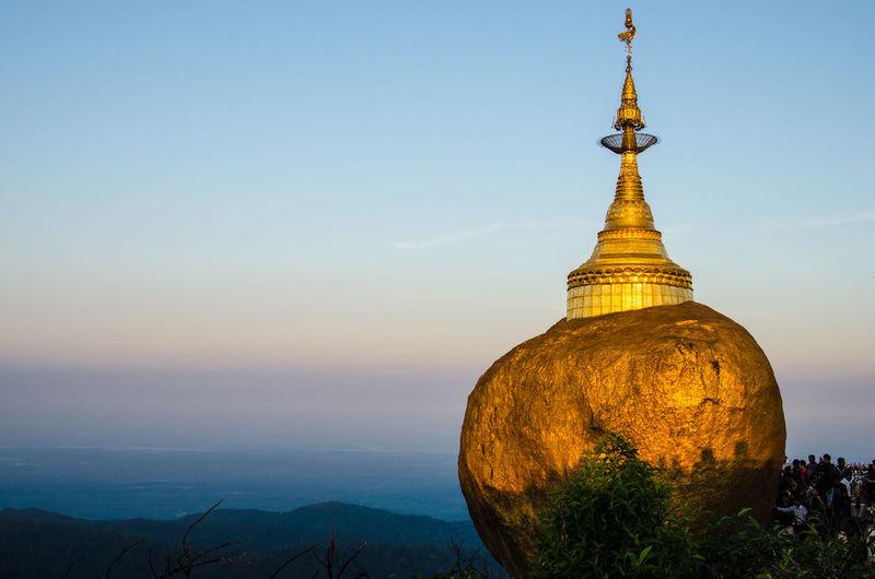 Birmania Burma Goldenrock Myanmar Religion Sky The Great Outdoors - 2016 EyeEm Awards Travel Photography