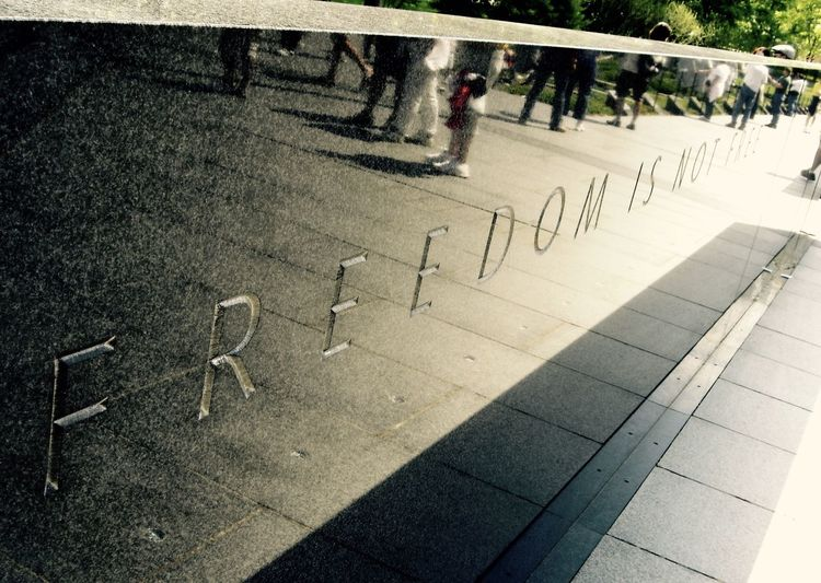 America Cobblestone Direction Freddom Freedom Is Not Free Koreanwar Koreanwarveteransmemorial Memorials Street War Washington, D. C. WashingtonDC