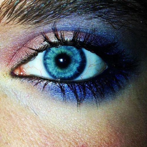 NewLook MaryKay Peacockblue Makeup blueeyes