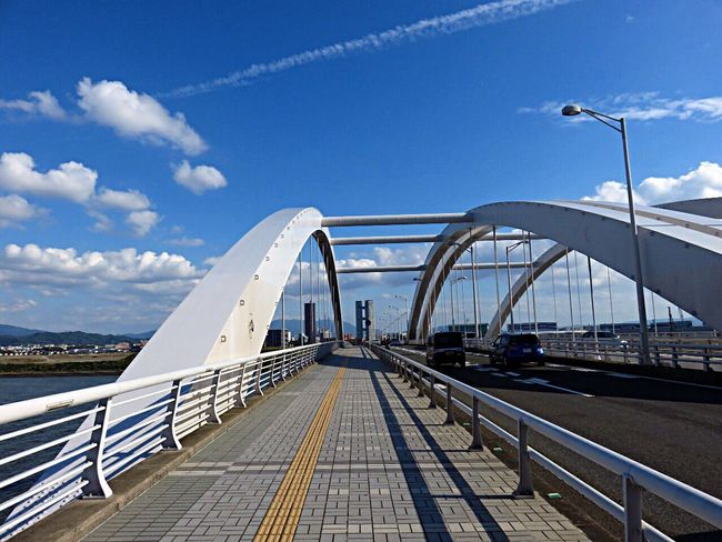 Beidge Bridge View On The Bridge Uminonakamichioohashi Sea Cityview Fukuoka 海の中道大橋 福岡 Fukuoka,Japan