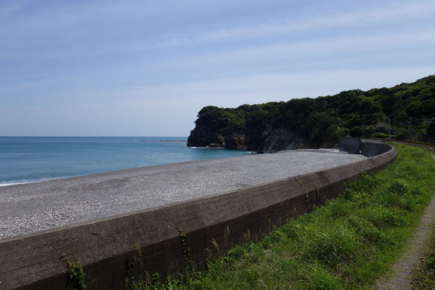 Japan Mie Seeside Summer Summertime Train Trip みえ