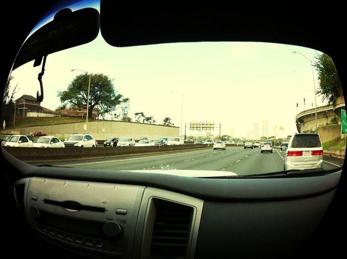 Artsy Driving Pics