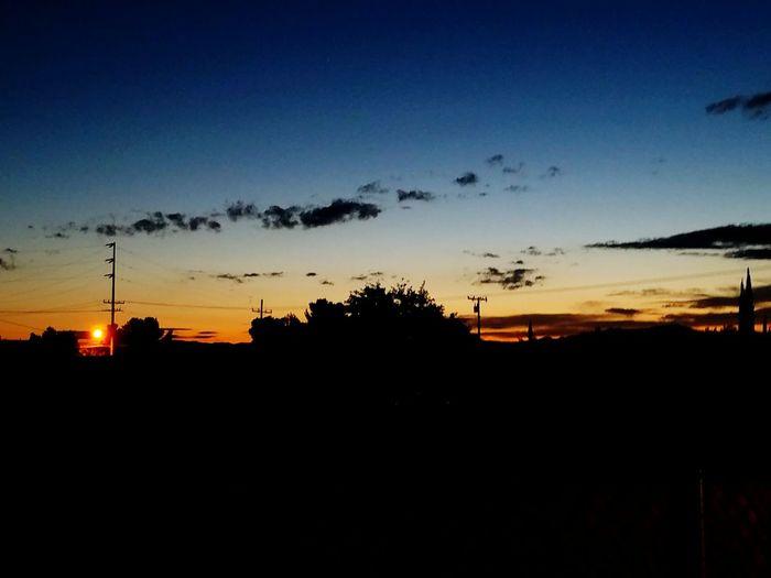 Earth Shadow Desert Sunrise Early Morning
