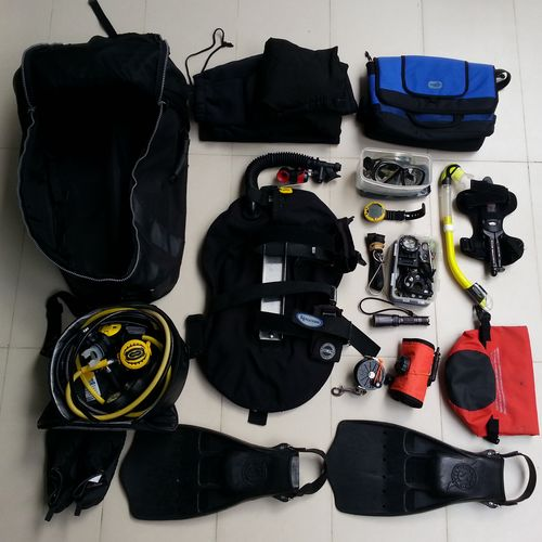 Diving Dive Gear regulator bcd bag Mask Sports SMB dive computer Packing My Suitcase Packed dive reel fins Snorkeling Snorkel Diving