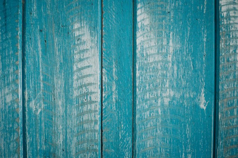 Full Frame Backgrounds Textured  Wood - Material Old Close-up Blue Weathered Detail Green Color Wooden Plank Vibrant Color Extreme Close Up No People