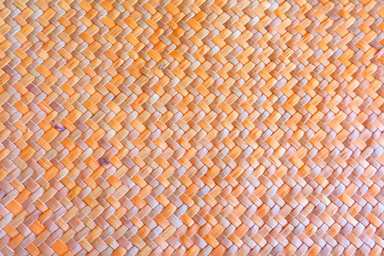 Backgrounds Full Frame Textured  Pattern Textile Crisscross Woven Material Close-up