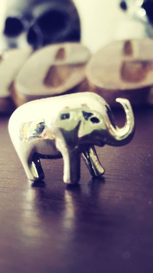I love elephants, this little guy is one of my favorites. I have them throughout my house Elephants Statue Favorite Animal