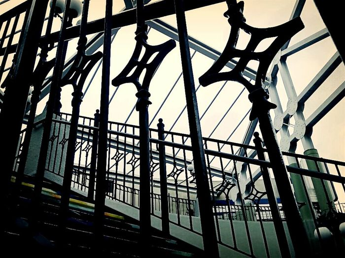 Horton Plaza Downtown San Diego Black And White From My Point Of Viewmy Black And White Photography Staircases Architecture Looking Up From The Bottom The Week On EyeEm Iron Railings Going Upstairs Design Intricatedesign Looking Up Staircase Perspective